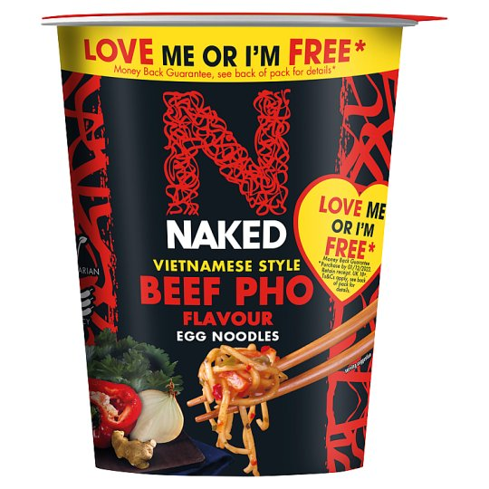 Naked Noodle Beef Pho Flavour 78G
