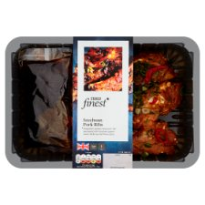 Tesco Finest Szechuan Pork Ribs 750G