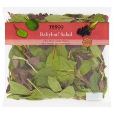 Tesco Babyleaf Salad 140G