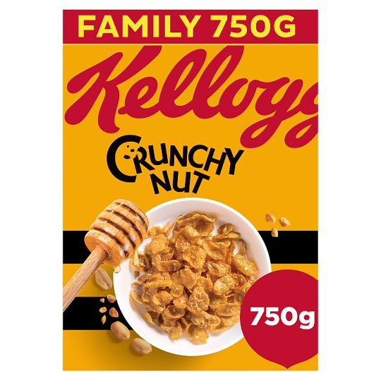 Kelloggs Crunchy Nut Corn Flakes Cereal 750G
