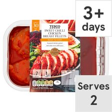 Tesco Sweet Chilli Chicken Breasts 320G