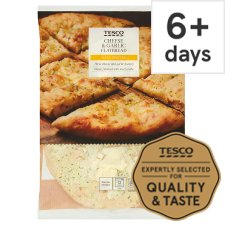 Tesco Four Cheese And Garlic Flatbread 230G