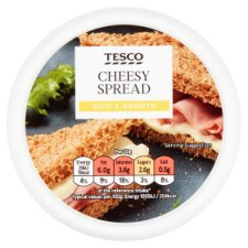 Tesco Cheesy Spread 125G