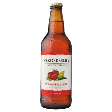 Rekorderlig Strawberry-Lime Cider 500Ml Bottle
