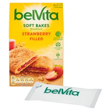 image 2 of Belvita Soft Filled Strawberry Biscuits 250G