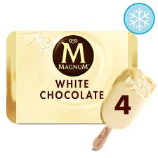 Magnum White Ice Cream 4 X110ml