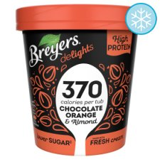 Breyers Delights Chocolate Orange Crunch Ice Cream 500Ml