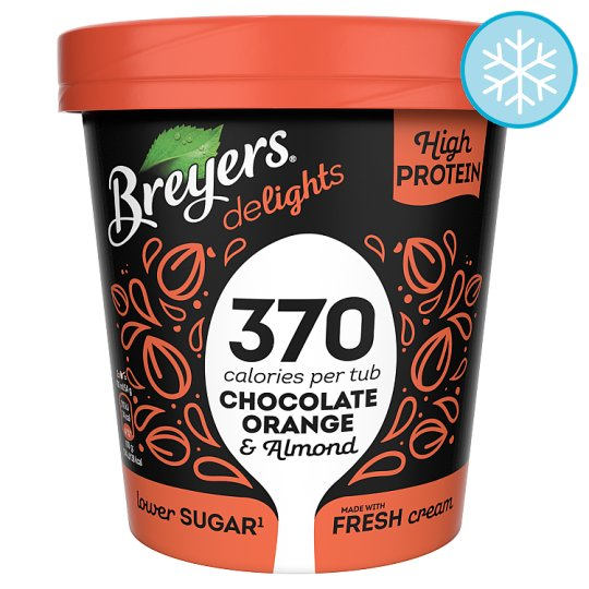 image 1 of Breyers Delights Chocolate Orange Crunch Ice Cream 500Ml