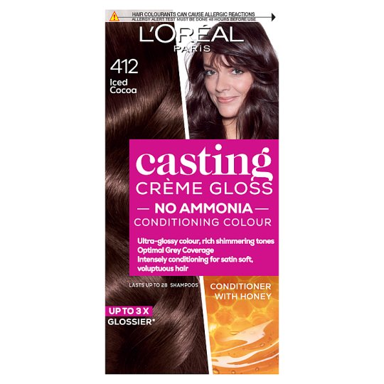 image 1 of L'oreal Paris Casting Creme Gloss 412 Iced Cocoa