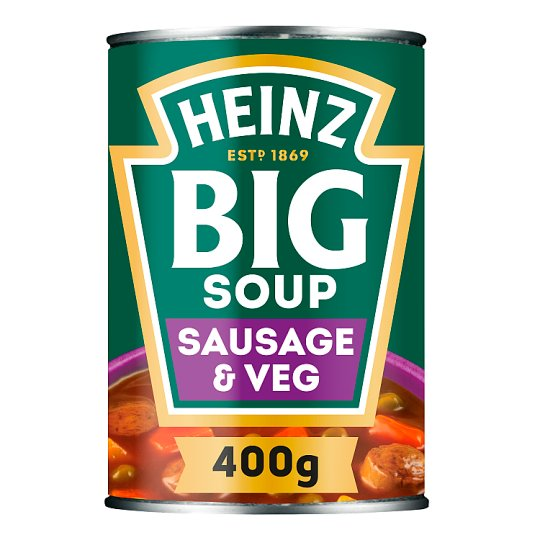 Heinz Big Soup Sausage And Vegetable 400G