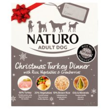 Naturo Pet Dog Christmas Turkey Dinner 400G