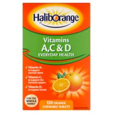 Haliborange Acd Vitamin Orange 120'S Tablets