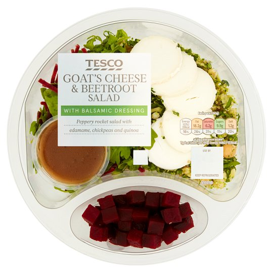 Tesco Beetroot And Goats Cheese Salad 260G