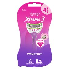 Wilkinson Sword Xtreme 3 Beauty Disposable Razors 4 Pack