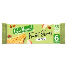 Go Ahead Crispy Apple And Sultana Slices 6X43.6G