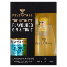 Fever Tree Lemon Drizzle Gin And Tonic Gift Set