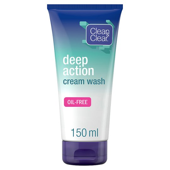 Clean And Clear Cleansing Cream Wash 150Ml