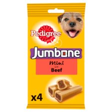 Pedigree Jumbone Small Beef Dog Chews 4 Pk, 180G