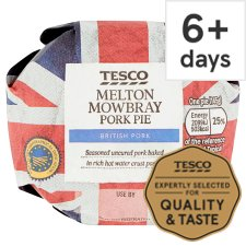 Tesco Small Melton Mowbray Pork Pie 145G