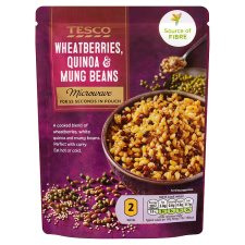 Tesco Quinoa Mung Bean And Wheat Berry 250G