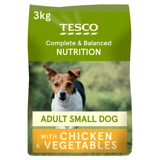Tesco Chicken Small Dog Dry Dog Food 3Kg
