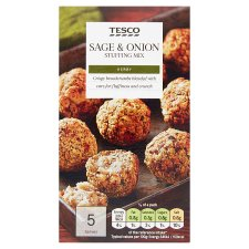 Tesco Sage And Onion Stuffing Mix 85G