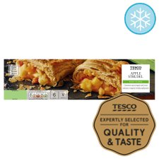 Tesco Apple Strudel 600G