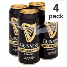 Guinness Mid Strength 4X440 Ml