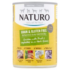 Naturo Grain Free Chicken Tinned Dog Food 390G