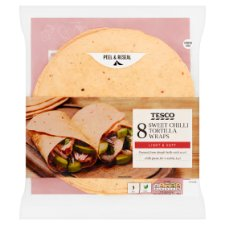Tesco Sweet Chilli Tortilla 8Pk