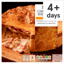Tesco Chicken And Bacon Puff Pastry Pie 500G