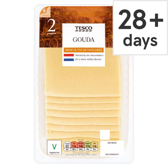 Tesco 10 Gouda Slices 250G