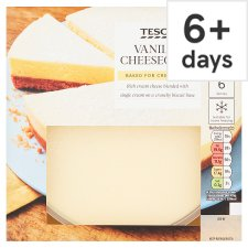 Tesco Vanilla Cheesecake 540G