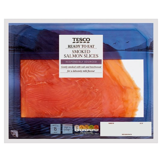 Tesco Smoked Salmon 240G