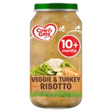 Cow & Gate Stage 3 Vegetable And Turkey Risotto 250G Jar