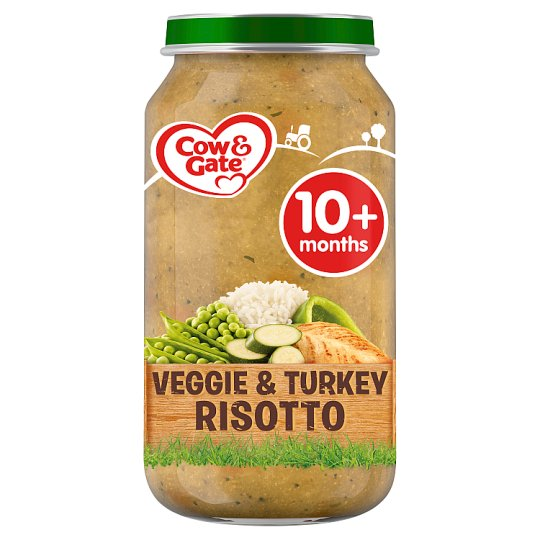 image 1 of Cow & Gate Stage 3 Vegetable And Turkey Risotto 250G Jar