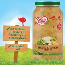 image 2 of Cow & Gate Stage 3 Vegetable And Turkey Risotto 250G Jar