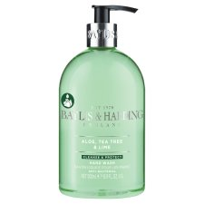 Baylis & Harding Hand Wash Tea Tree Lime Antibacterial 500Ml