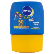 Nivea Childrens Pocket Size Spf 50 50Ml