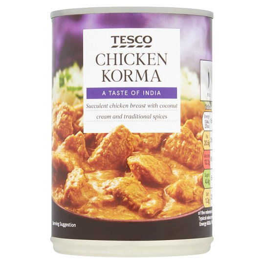 Tesco Chicken Korma 400G