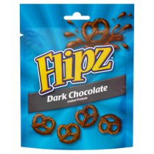 Flipz Dark Chocolate Coated Pretzels 100G