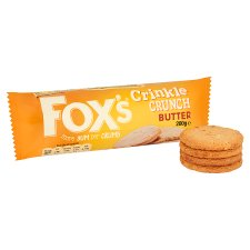 Fox's Crinkle Butter Biscuits 200G