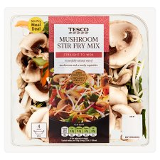 Tesco Sliced Mushroom With Parsley 150G