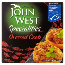 John West Dressed Crab 43G