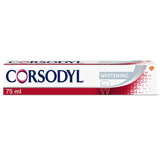 image 1 of Corsodyl Whitening Toothpaste 75Ml