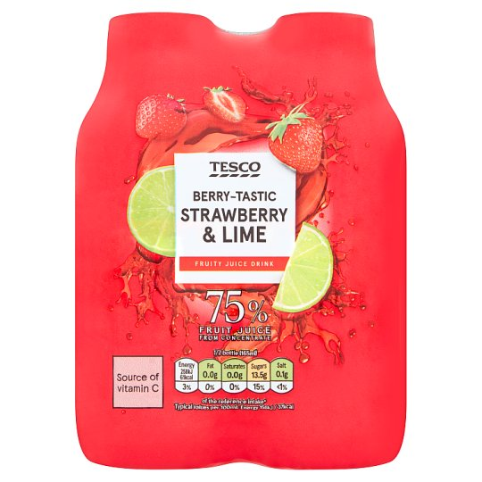T.Strawberrylime Juice Drink Mpk 4X330ml