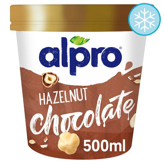 Alpro Hazelnut Chocolate Ice Cream 500Ml
