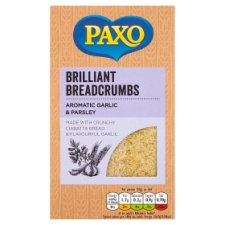 Paxo Garlic And Parsley Breadcrumbs 120G
