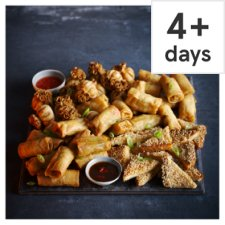Tesco Chinese Party Food Selection, 52 Pieces, Serves 15-17