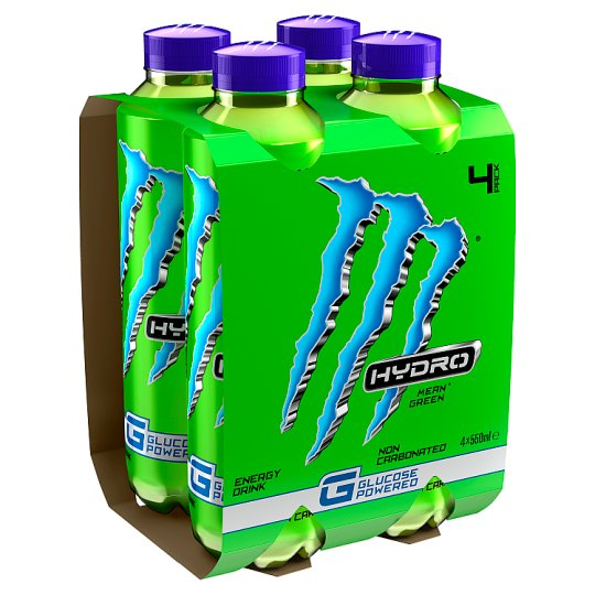 image 1 of Monster Hydro Mean Green 4X550ml